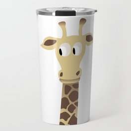 Giraffe in a Car Travel Mug