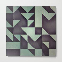 :: geometric maze VIII :: Metal Print