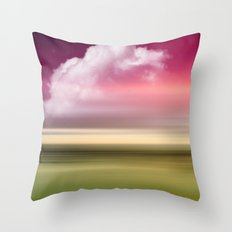 The Sound of Light and Color - Fresh Spring Throw Pillow