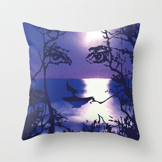 Vesperal Apparition Throw Pillow