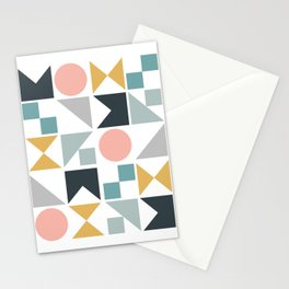Modern Geometric 09 Stationery Cards