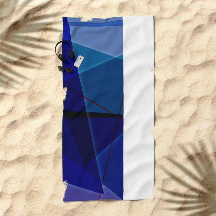 Abstract #463 Beach Towel