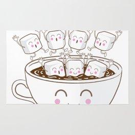 Marshmallow fun! Rug
