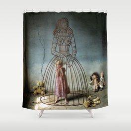 eternal child Shower Curtain
