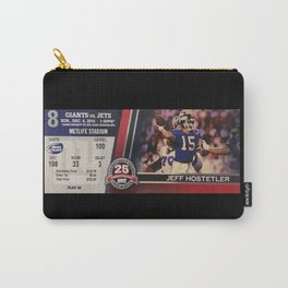Pro Football Ticket Stub - Giants v. Jets Carry-All Pouch