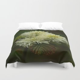 Fothergilla Major - Mountain Witchalder Duvet Cover