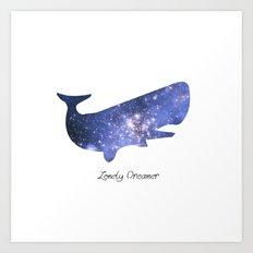 Lonely Dreamer Art Print