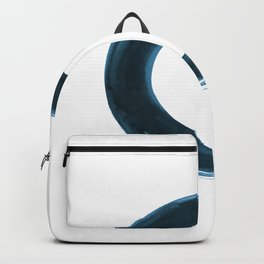 Enso Serenity No.6q by Kathy Morton Stanion Backpack