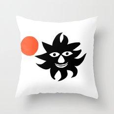 A. Calder inspired artwork (n.10) Throw Pillow