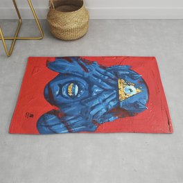 you belong to the villains Rug
