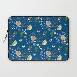 Summer Print Royal Blue Laptop Sleeve