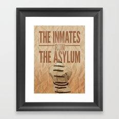 Asylum. Framed Art Print