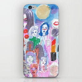 Moon Womans Squad iPhone Skin