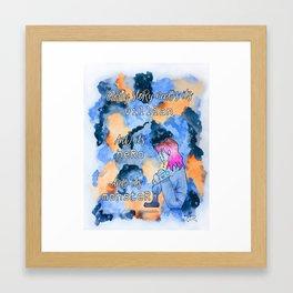 Obidio Villian Hero Monster Framed Art Print