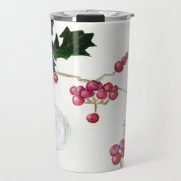 Berry Red Travel Mug