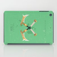 league of legends iPad Cases featuring League of Legends: Akali by Monstruonauta