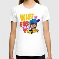 drunk T-shirts featuring Drunk Beebz by Chris Piascik
