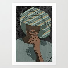 Tribesman Art Print