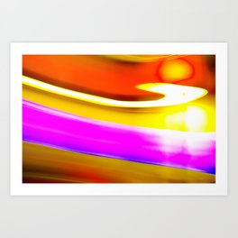 Abstrat colors #2 Art Print