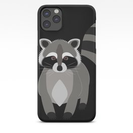 Raccoon in the Night iPhone Case