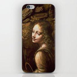 "Leonardo da Vinci ""The Virgin of the Rocks (London)"" Angel iPhone Skin"