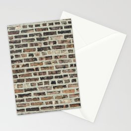 brick wall Stationery Cards