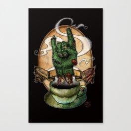The Redeye Canvas Print