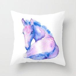 Wonderfoal Throw Pillow