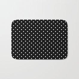 Dots (White/Black) Bath Mat