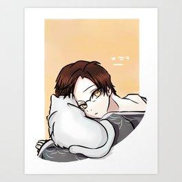 Mystic Messenger - Jaehee (Elizabeth 3rd series) Art Print