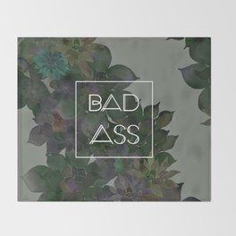 BADASS Throw Blanket