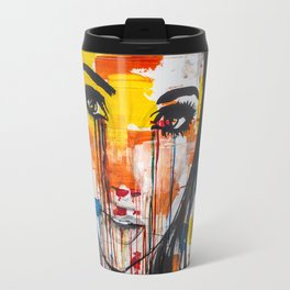 The unseen emotions of her innocence Travel Mug