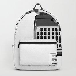 i´m writer an i hate people i write a copywriter Backpack