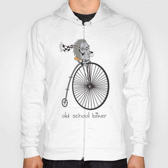 old school biker Hoody
