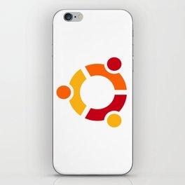 Ubuntu Linux iPhone Skin