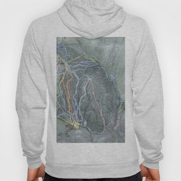 Gore Mountain Trail Map Hoody