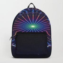 Farris Wheel Mandala Abstract Backpack