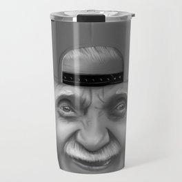 Oldman snapback Travel Mug