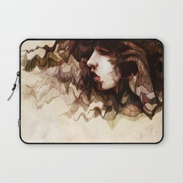 Scarlet Wilt Laptop Sleeve