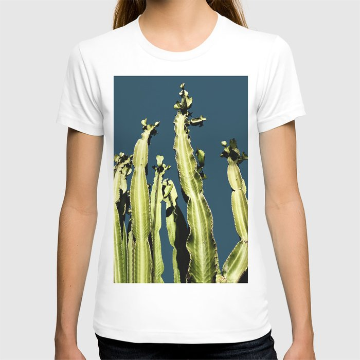 Cactus - blue T-shirt