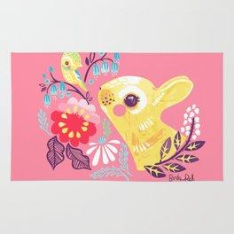Spring Bunny Rug