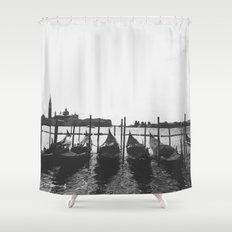 Venetian Gondolas Shower Curtain