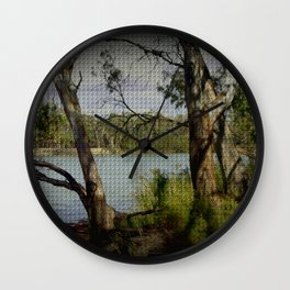 The Mighty Murray River Wall Clock