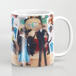 Ella Fitzgerald & the Chick Webb Orchestra at the Harlem Savoy Theater Coffee Mug