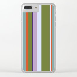 Stripes One Clear iPhone Case