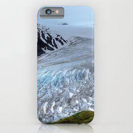 Glacier mountains ice snow Alaska USA Harding Icefield Kenai Fjords National Park United States iPhone Case