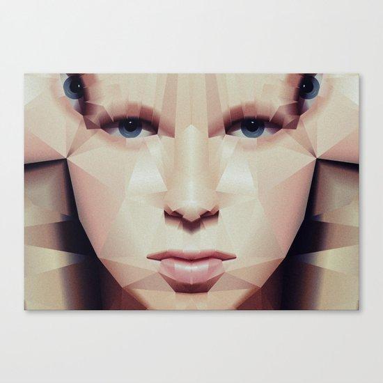 Facet_EF2 Canvas Print