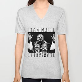 You Taste Like Death Pope Unisex V-Neck