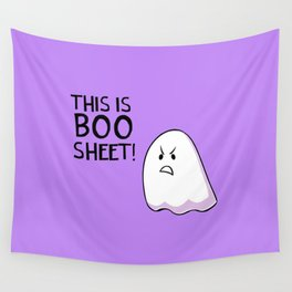 Grumpy Ghost Wall Tapestry
