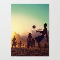 brasil Canvas Prints featuring Brasil by afzucatti